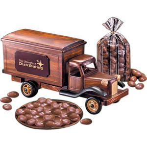 Custom Designed Delivery Truck Vehicle Themed Food Gifts!