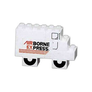 Mini Stock Shaped Promo Block Sets - Delivery Vehicle Shaped Mini Stock Shaped Promo Block Sets
