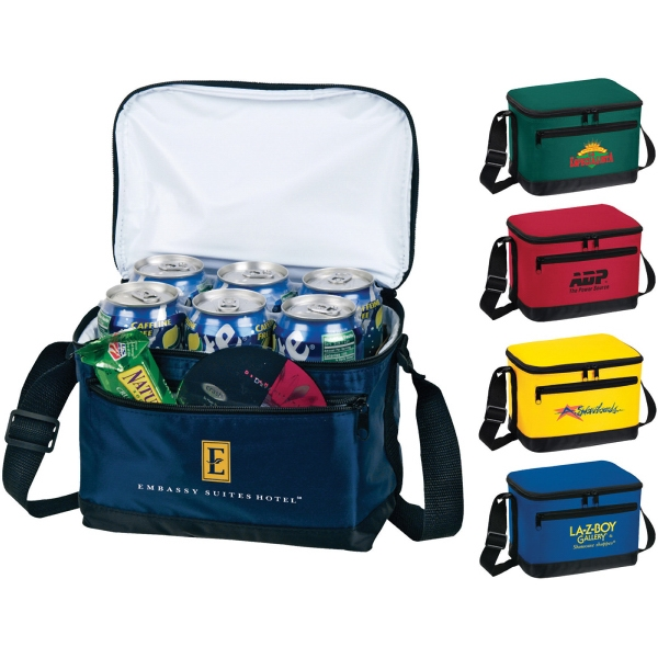 Personalized 1 Day Service 6 Pack Insulated Bags!