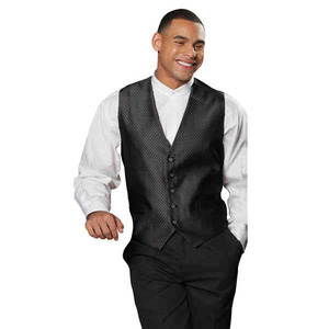 Customized Diamond Brocade Vests!