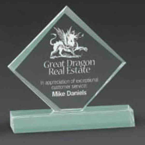Diamond Shaped Promotional Items - Diamond Shaped Awards