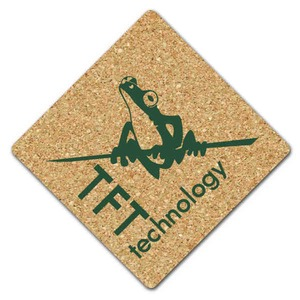 Diamond Shaped Promotional Items - Diamond Shaped Coasters