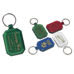 Personalized Diamond Shaped Key Tags!