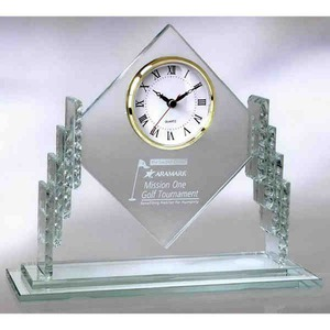 Custom Imprinted Diamond Wall Clocks