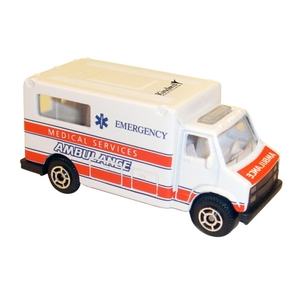 Customized Die Cast Ambulances!
