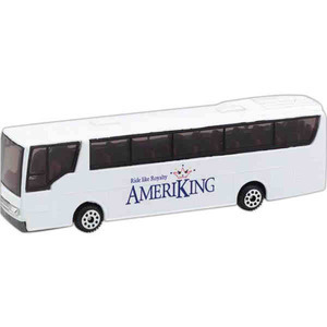 Custom Imprinted Die Cast Tour Buses