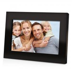 Custom Printed Digital Photo Frame with Wooden Frame!