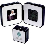 Custom Printed Digital Photo Frame Travel Alarm Clocks!