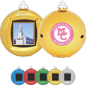 Christmas Ornaments - Digital Picture Frame Ornaments
