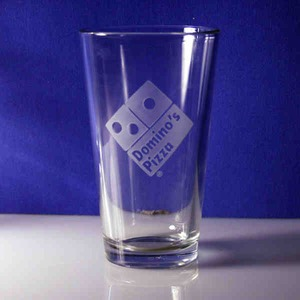 Custom Decorated Dimpled Pint Glasses