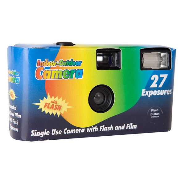 Personalized 27 Exposure Disposable Cameras