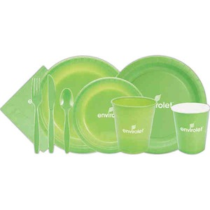 Disposable Color Plastic Dining Products -