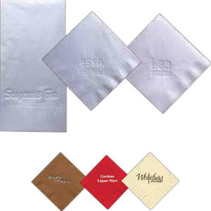 Custom Imprinted Disposable Recycled Napkins