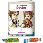 Custom Imprinted Doctors Office Themed Coloring Books