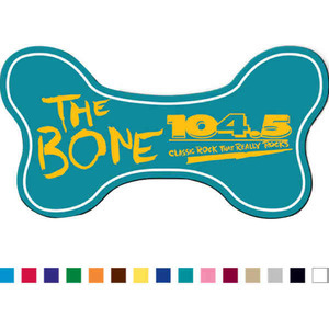 Custom Printed Dog Bone Shaped Magnets
