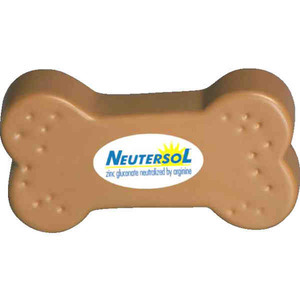 Pet Themed Promotional Items - Dog Bone Shaped Stress Relievers