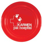 Custom Printed Dog Frisbees!