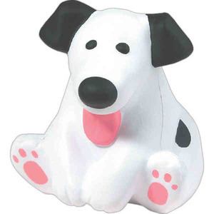 Custom Imprinted Dog Shaped Stress Relievers!