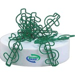 Bent Shaped Paperclips -