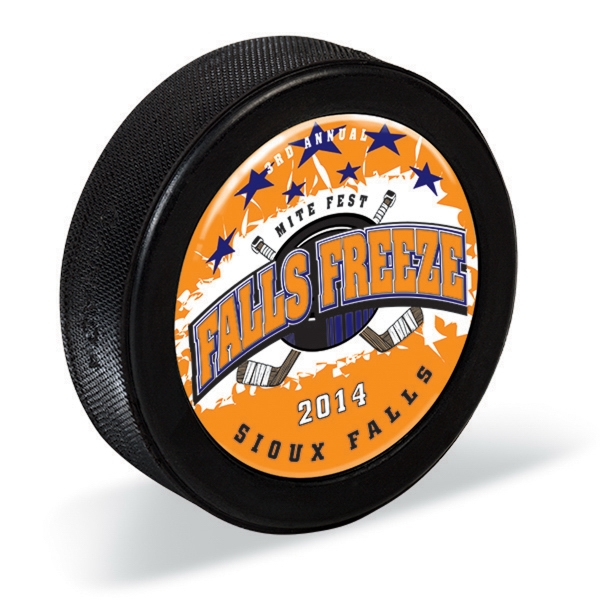 Custom Imprinted Hockey Pucks!