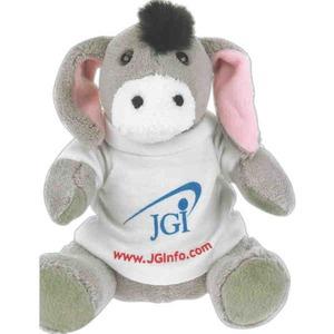 Custom Printed Donkey Stuffed Animal!