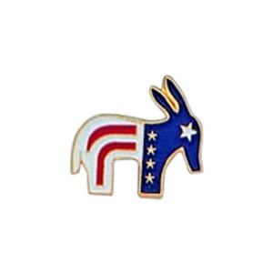 Custom Imprinted Donkey Shaped Pin!