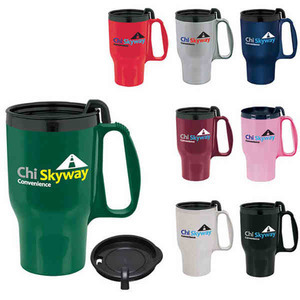 Dual Wall Insulated Travel Mugs -