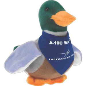 Custom Imprinted Duck Bird Beanie Toys!