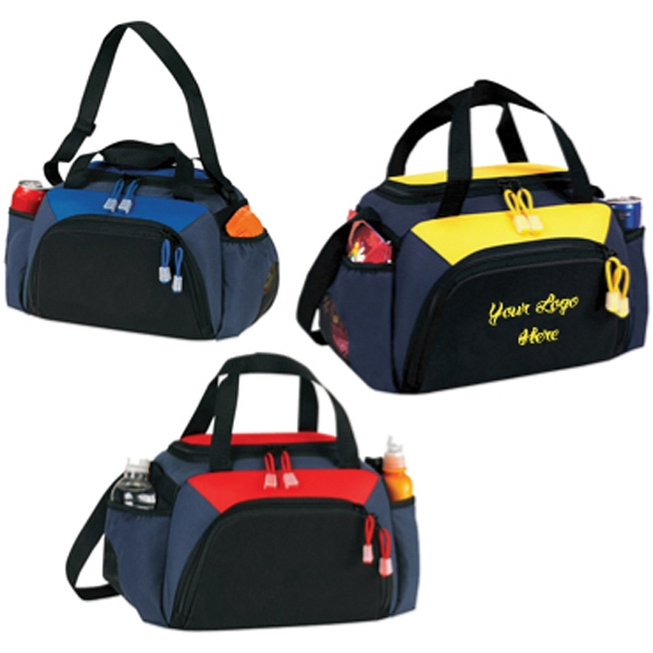 Canadian Manufactured Duffel Bags - Canadian Manufactured Dual Lunch Duffel Bags