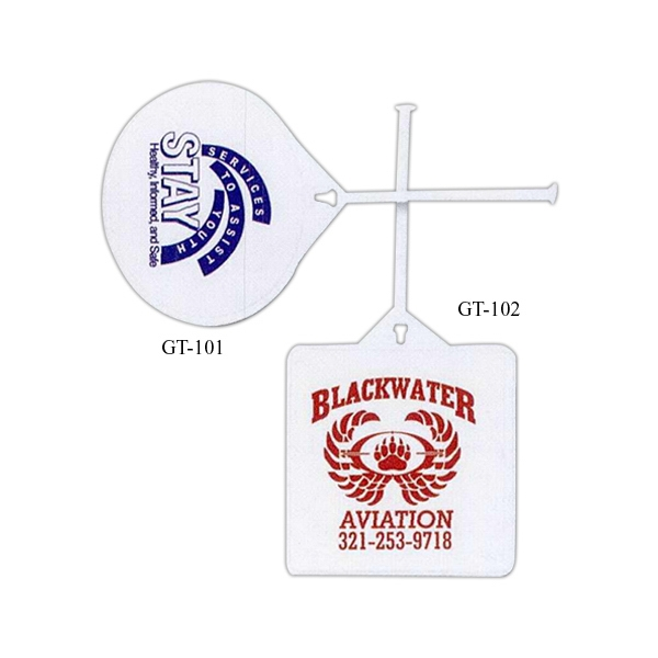 Custom Decorated 3 Day Service Round Golf Bag Tags!