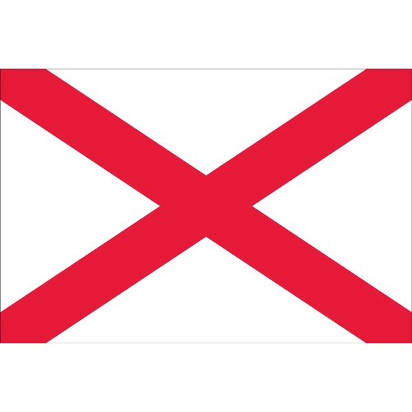 Alabama State Shaped Items State Shaped Items - Alabama Flags