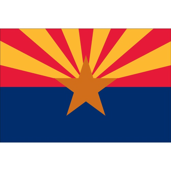 Arizona State Shaped Items -