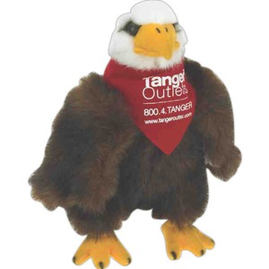 Custom Imprinted Eagle Bird Beanie Toys