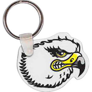 Personalized Eagle Bird Shaped Keytags!
