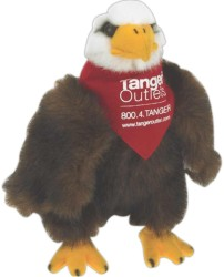 Custom Printed Eagle Bird Stuffed Toys!
