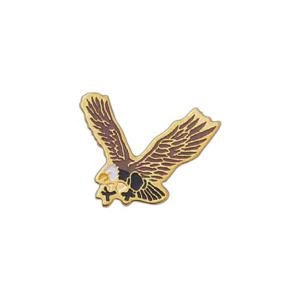 Custom Imprinted Eagle Mascot Pins!