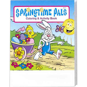 Easter Holiday Coloring Activity Books