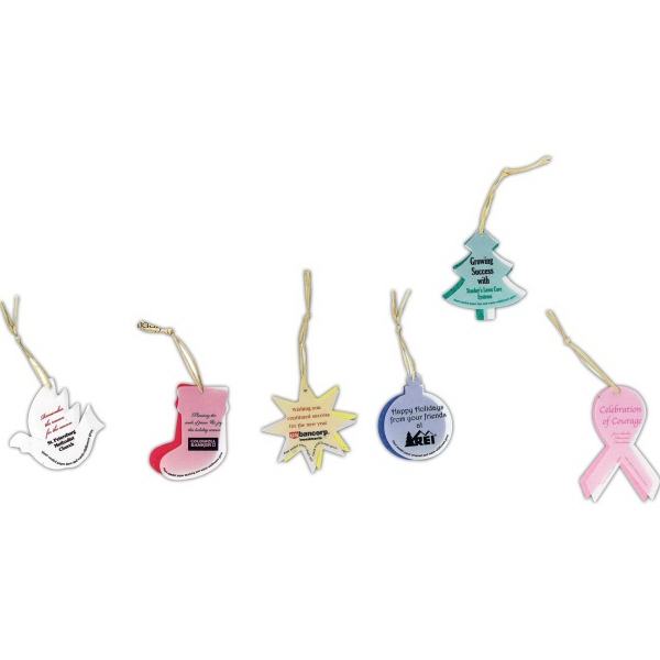 Custom Designed Awareness Ribbon Porcelain Ornaments!