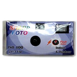 Custom Made Eco Friendly 15 Exposure Disposable Cameras!