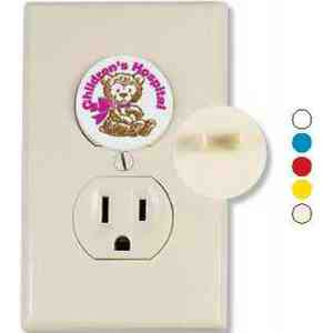 Custom Imprinted Electric Outlet Protectors!