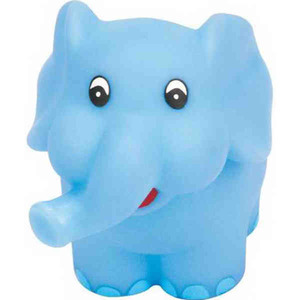 Custom Imprinted Republican Campaign Elephant Squeaking Toy!