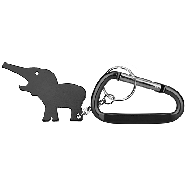 Custom Printed custom-printed-elephant-shaped-key-chains