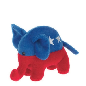 Custom Imprinted Republican Elephant Stuffed Animal