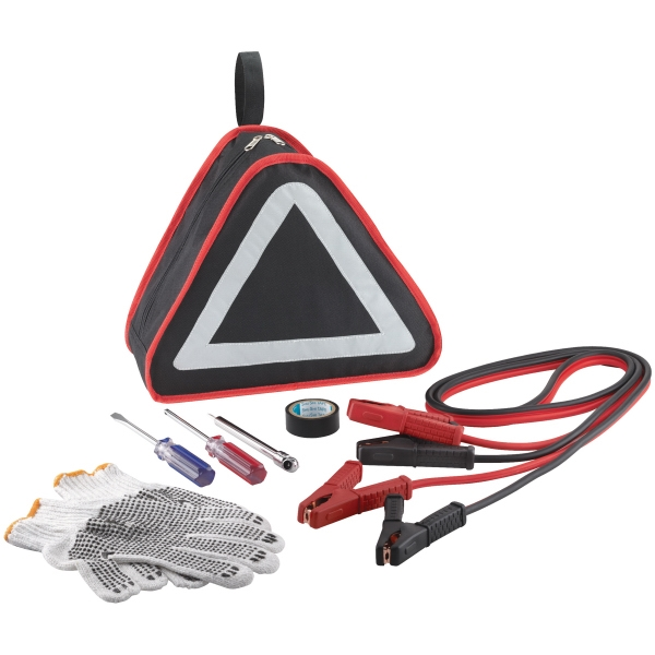 Custom Imprinted 1 Day Service Deluxe Emergency Auto Kits