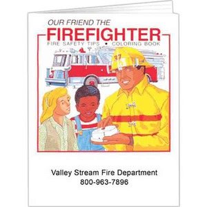 Fire Safety Coloring Books -