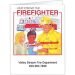 Custom Printed Fire Safety Coloring Books!