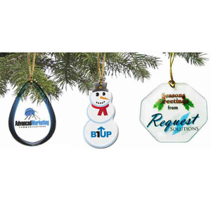 Christmas Ornaments - Epoxy Dome Ornaments