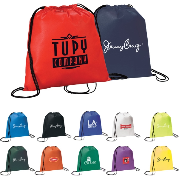 1 Day Service Drawstring Backpacks -
