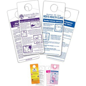 Pink Color Promotional Items - Exam Cards