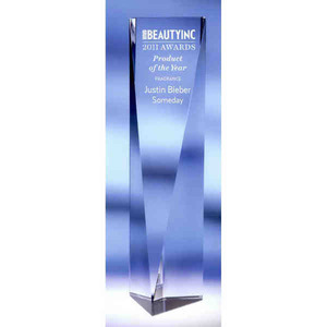 Vertical Crystal Awards -